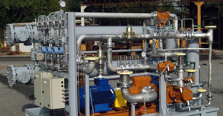 Centralina olio lubrificazione e controllo turbogeneratore